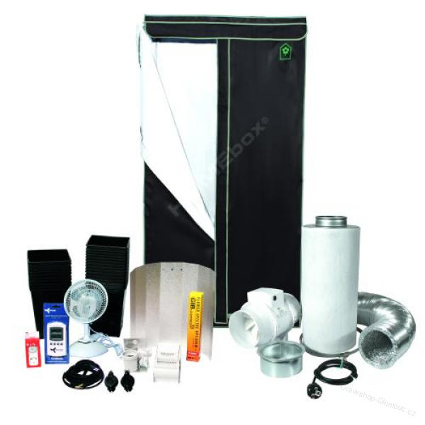 HOMEBOX KIT 600W - 120x120x200 cm