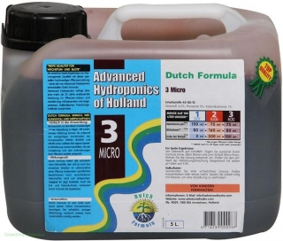 Advanced Hydroponics - Dutch Formula Micro 5l